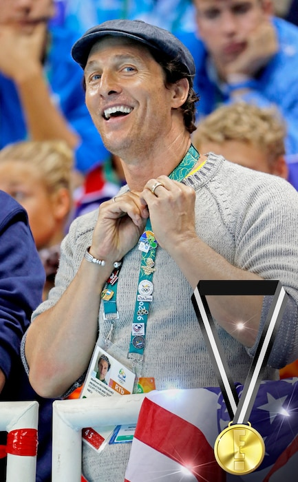 E! Olympic Medals, Matthew McConauhey