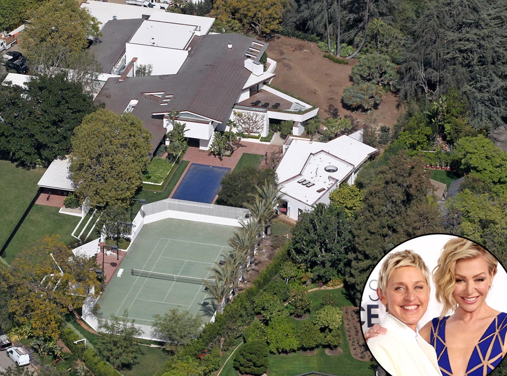 Ellen DeGeneres, Celeb Homes