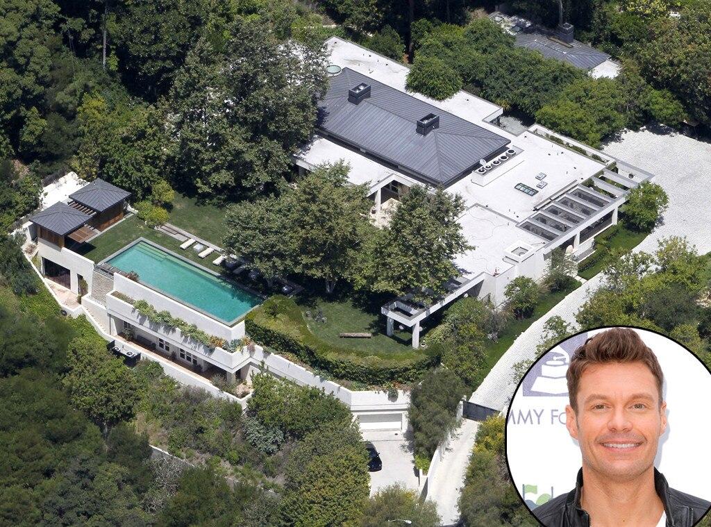 Ryan Seacrest, Celeb Homes