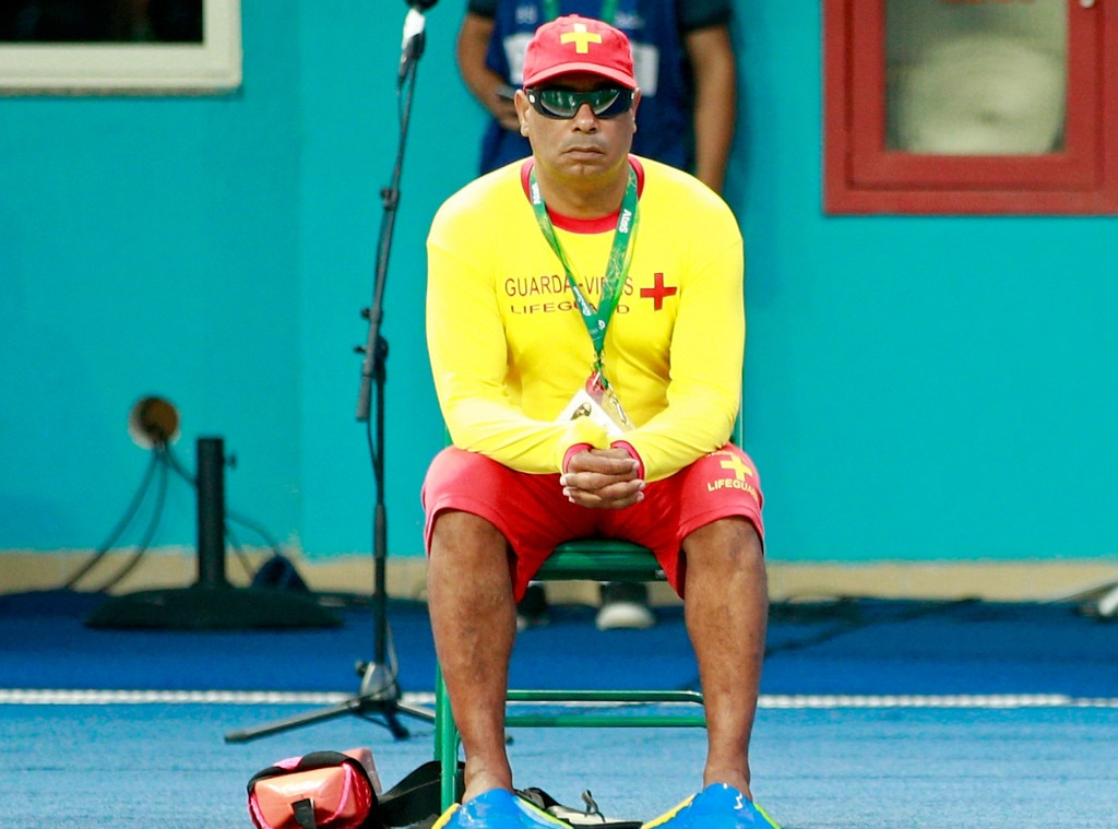 Odd Olympic Jobs, Lifeguard