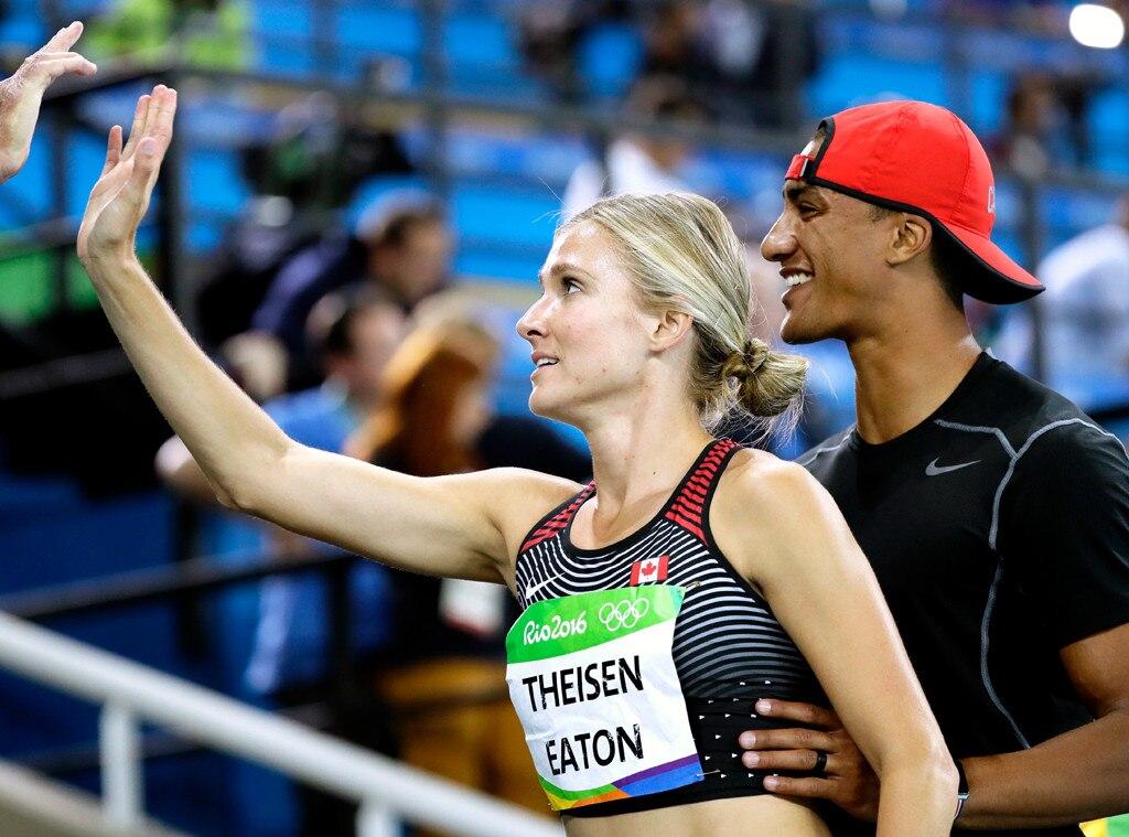 Ashton Eaton, Brianne Theisen Eaton, 2016 Rio Olympics