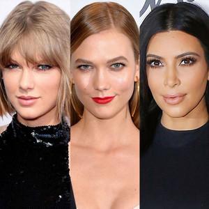 Taylor Swift, Karlie Kloss, Kim Kardashian