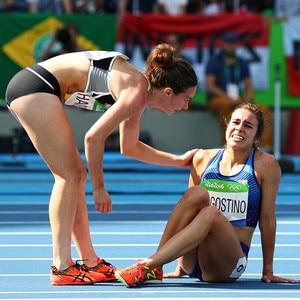 Abbey D'Agostino, Nikki Hamblin, 2016 Rio, Olympics
