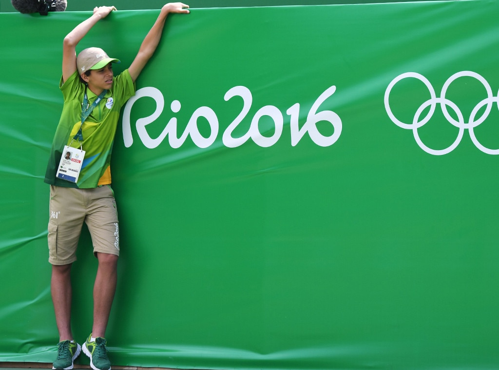 Odd Olympic Jobs, Ball Boy, Tennis Boy