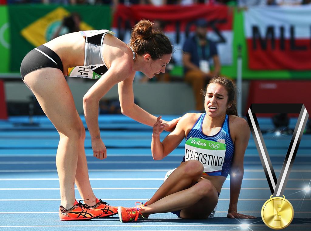 E! Olympic Medals, Abbey D'Agostino, Nikki Hamblin