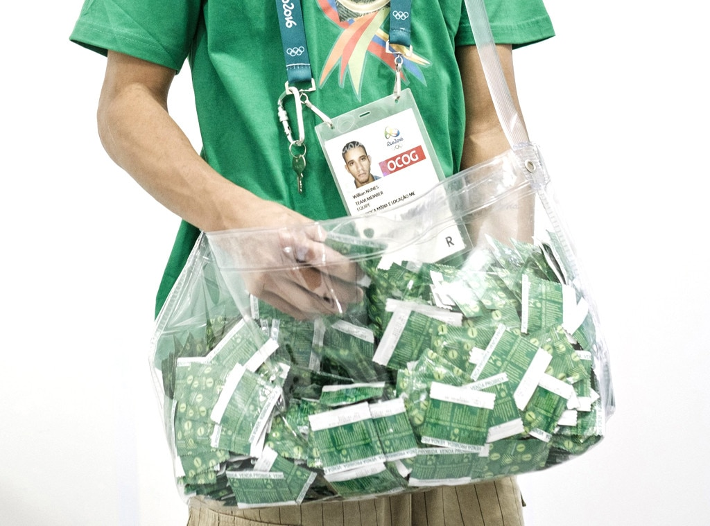 2016 Rio Olympic Games, Staff Member, Condoms, Odd Olympic Jobs