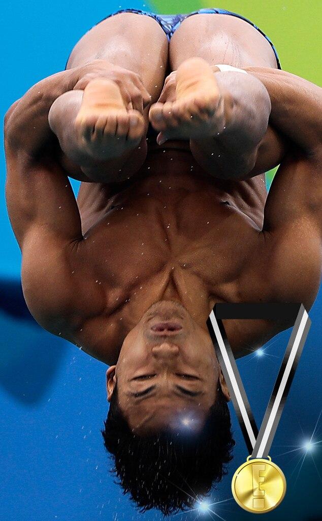 E! Olympic Medals, Ahmad Amsyar Azman