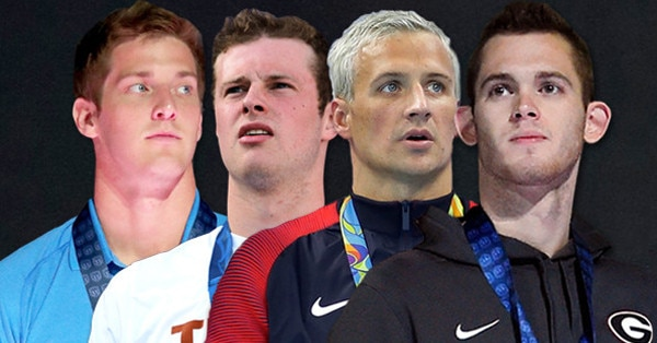Ryan Lochte, Jack Conger, Gunnar Bentz, James Feigen
