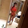 Kim Kardashian, Orange Bikini