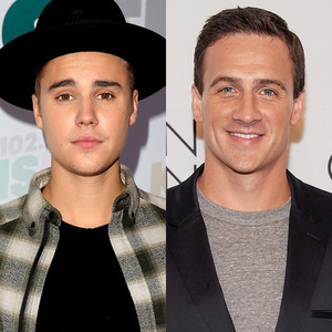 Justin Bieber, Ryan Lochte