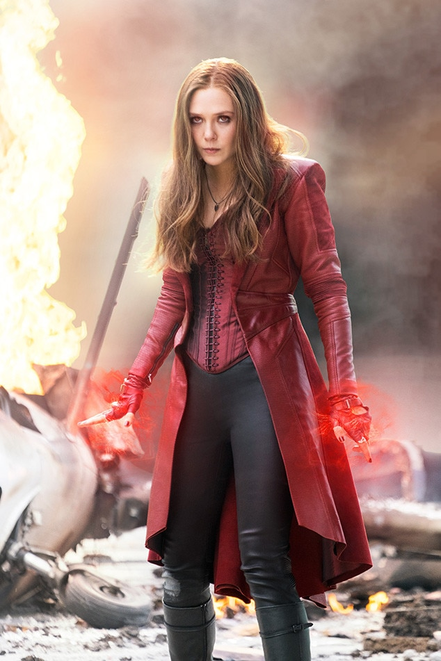 Captain America: Civil War, Elizabeth Olsen