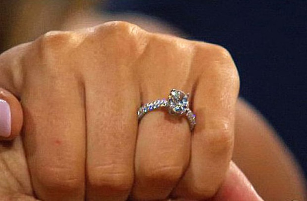 Bachelorette JoJo Fletcher s Diamond Engagement Ring From Jordan Rodgers