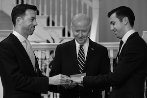 Brian Mosteller, Joe Biden, Joe Mahshie