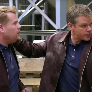 James Corden, Matt Damon, The Late Late Show