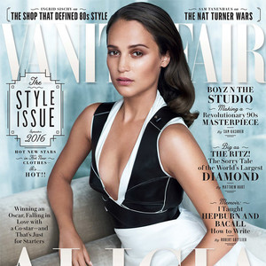 Alicia Vikander, Vanity Fair