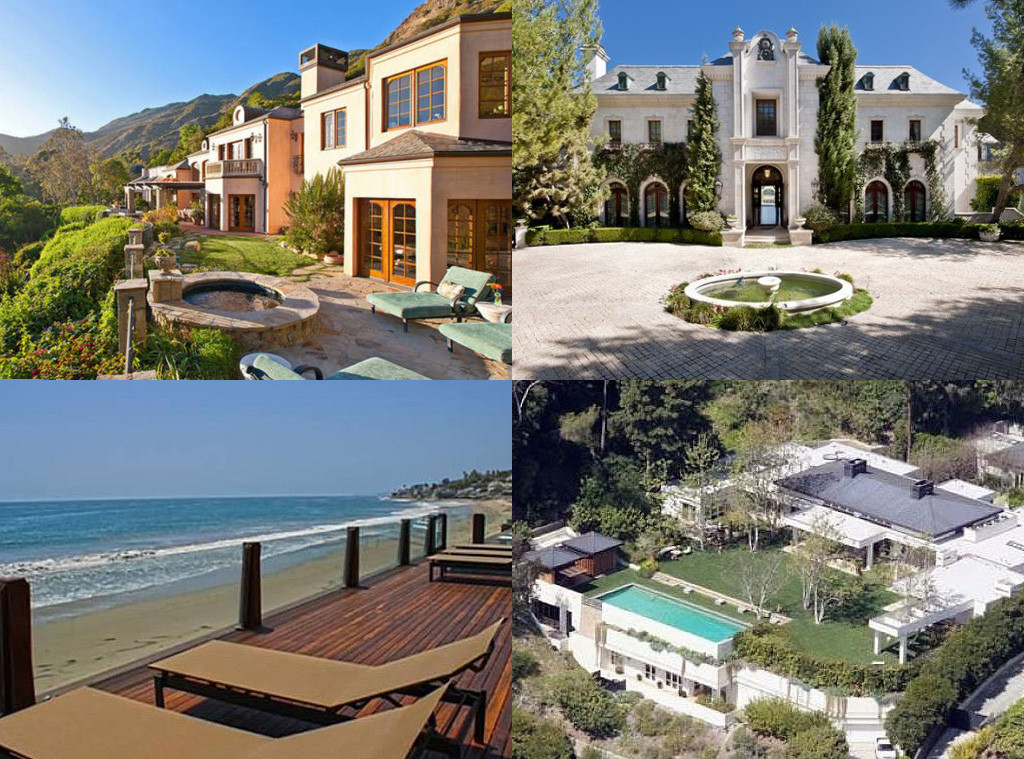 Pricey Pads The Most Expensive Celebrity Homes E News