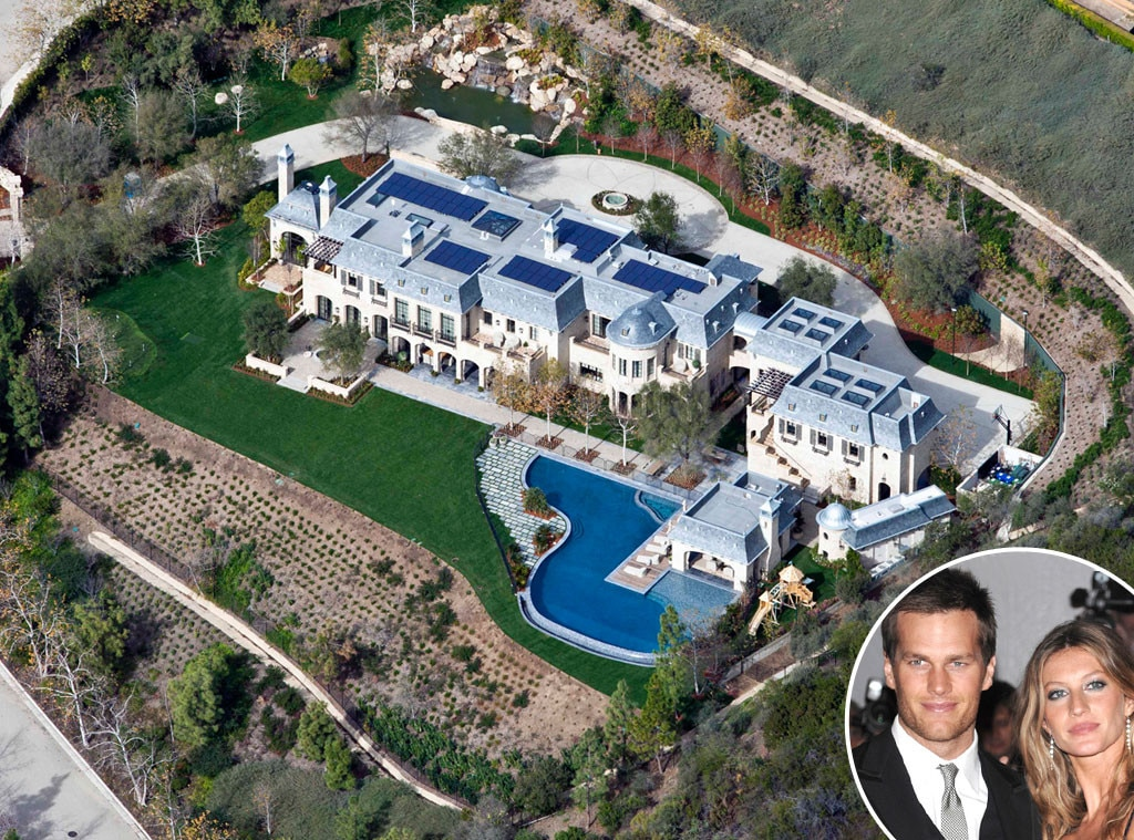 Tom Brady, Gisele Bundchen, Celeb Home