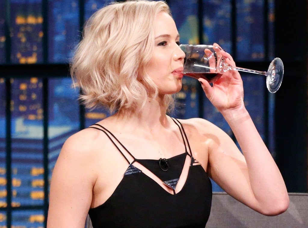 ESC: Jennifer Lawrence, Wine