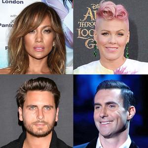 Jennifer Lopez, Scott Disick, Adam Levine, Pink, Real Estate