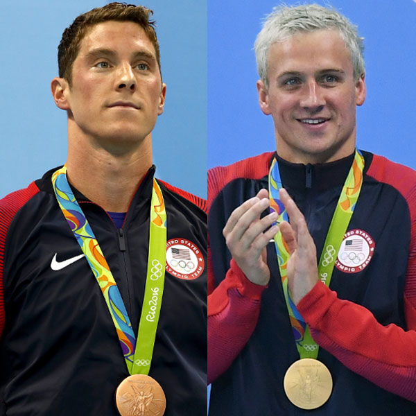 Conor Dwyer, Ryan Lochte