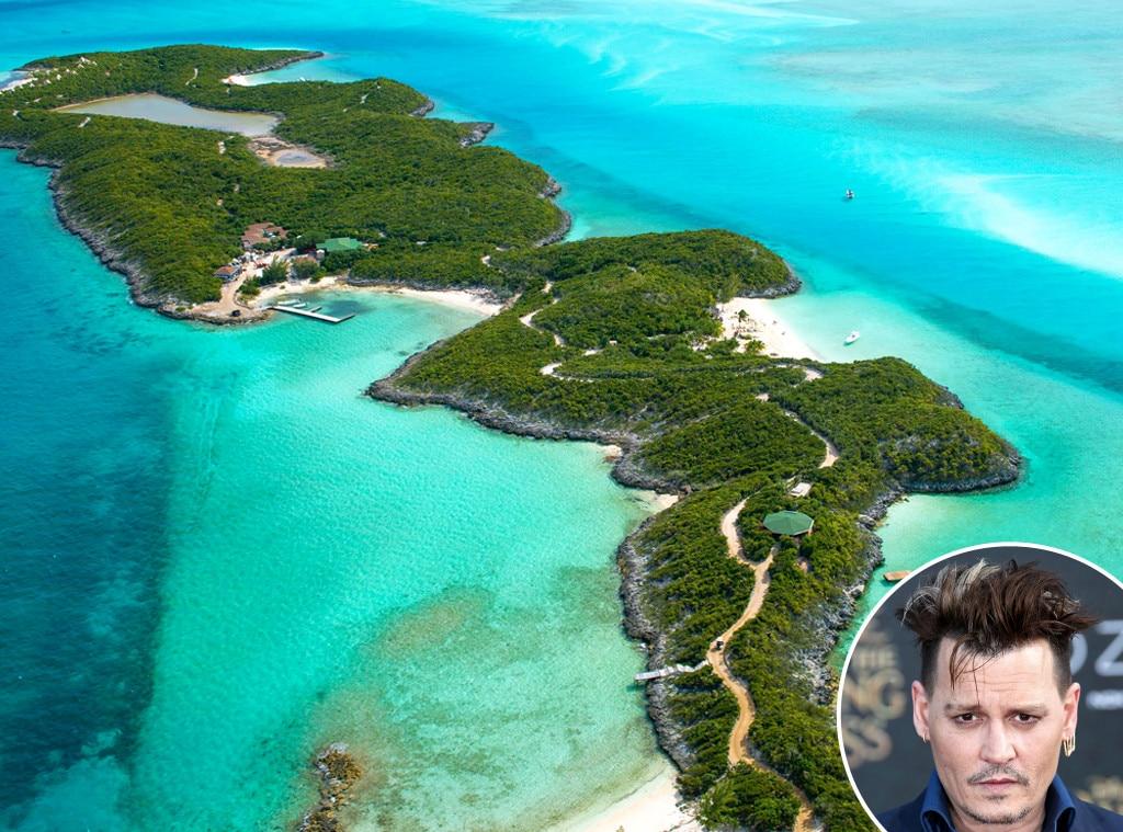 Johnny Depp, Island