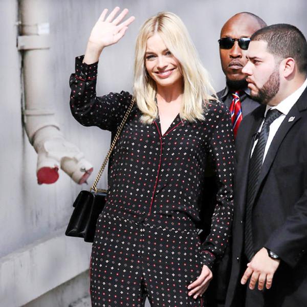 ESC: Margot Robbie, Pajamas Market