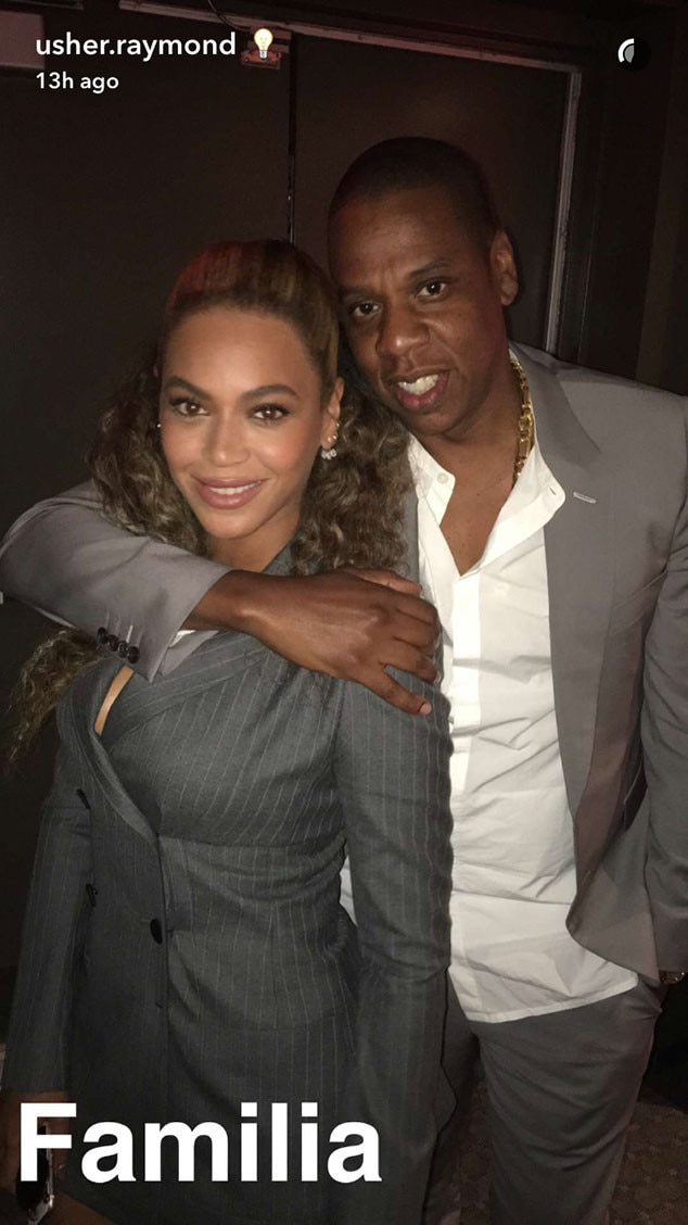 Beyonce, Jay Z, Usher, Hands of Stone Premiere