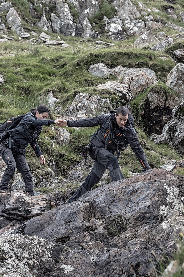 Courteney Cox, Running Wild, Bear Grylls