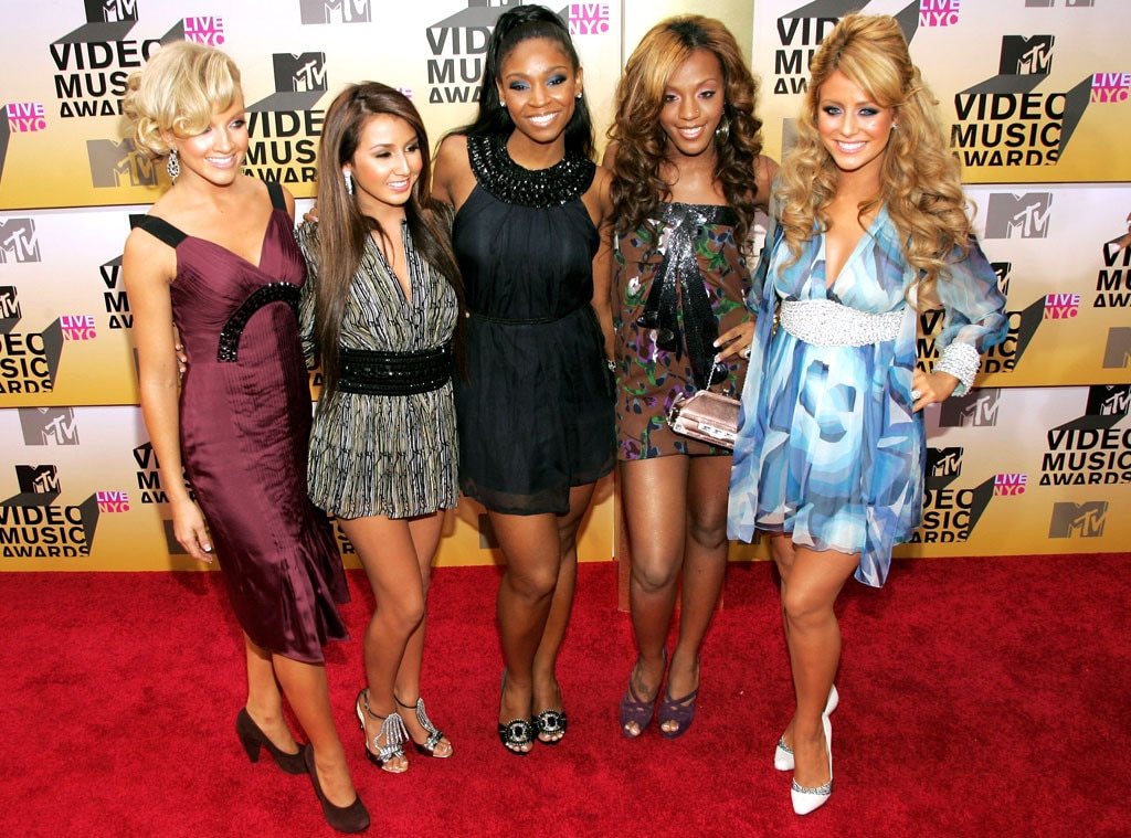 MTV Video Music Awards 2006, Dawn, Aubrey ODay, D. Woods, Shannon, Aundrea, Danity Kane
