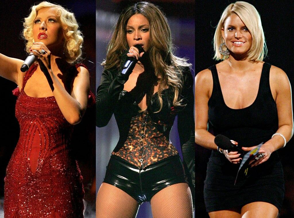 MTV Video Music Awards 2006, Christina Aguilera, Beyonce, Jessica Simpson