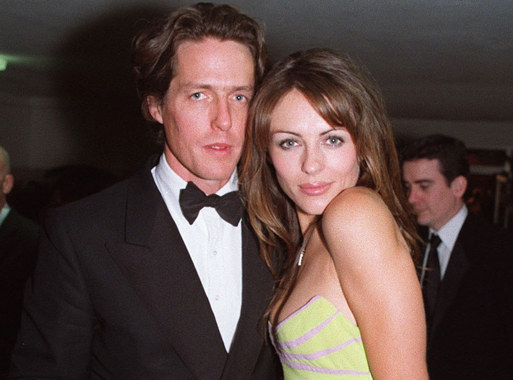Hugh Grant & Elizabeth Hurley from Famous Celebrity ...