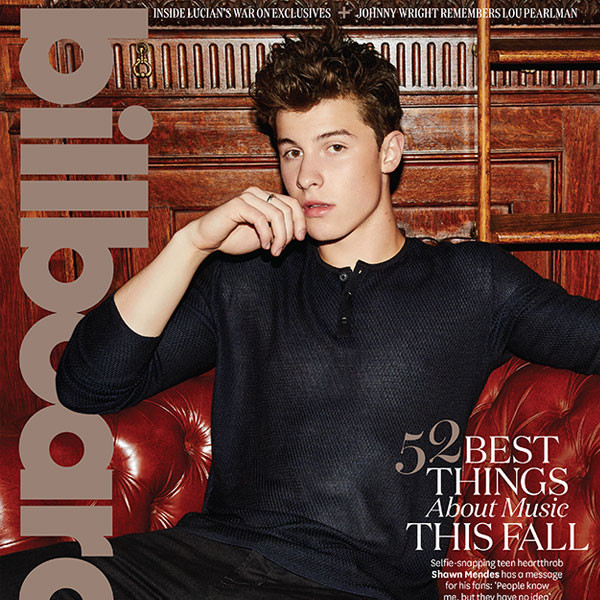 Shawn Mendes, Billboard