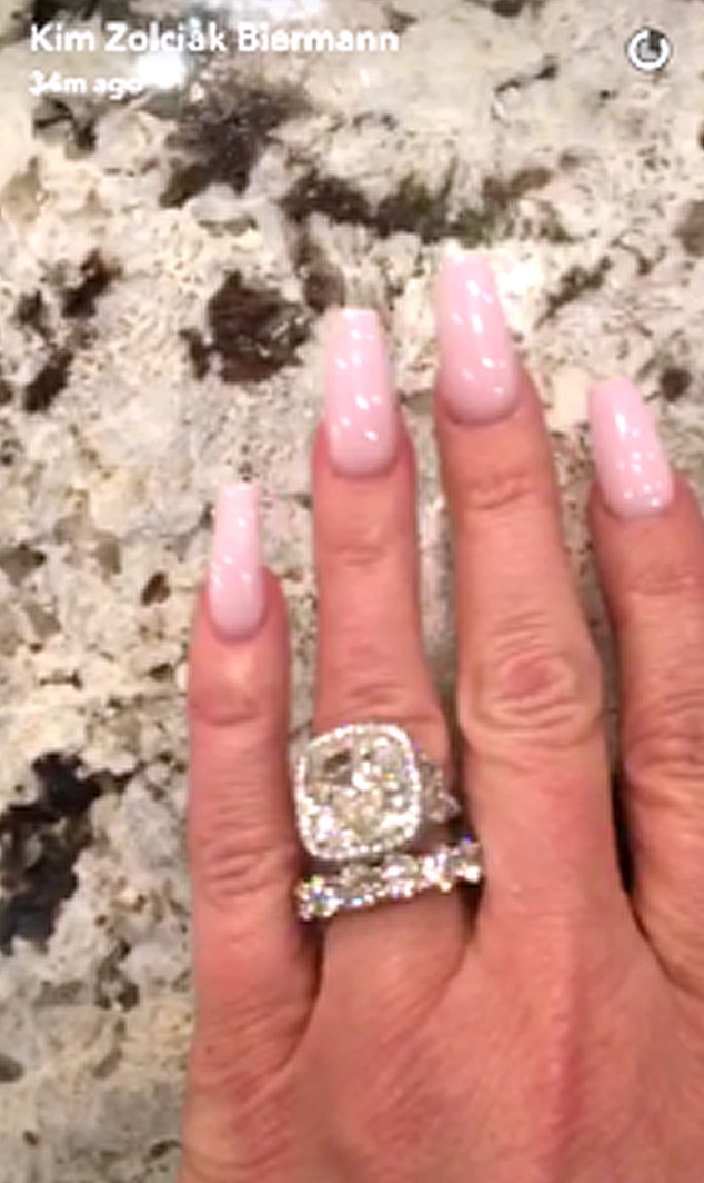 Kim Zolciak Biermann, Ring