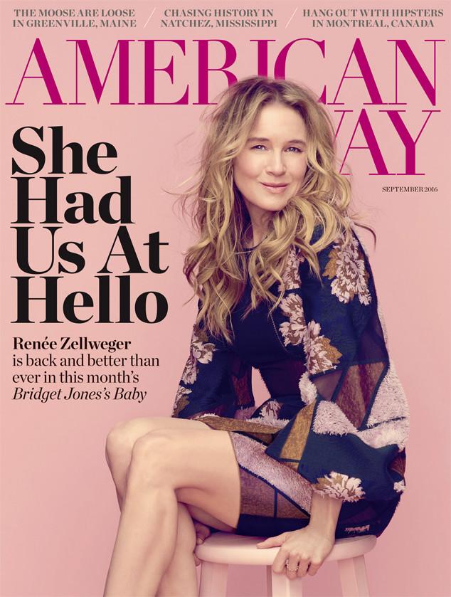 Renee Zellweger, American Way Magazine