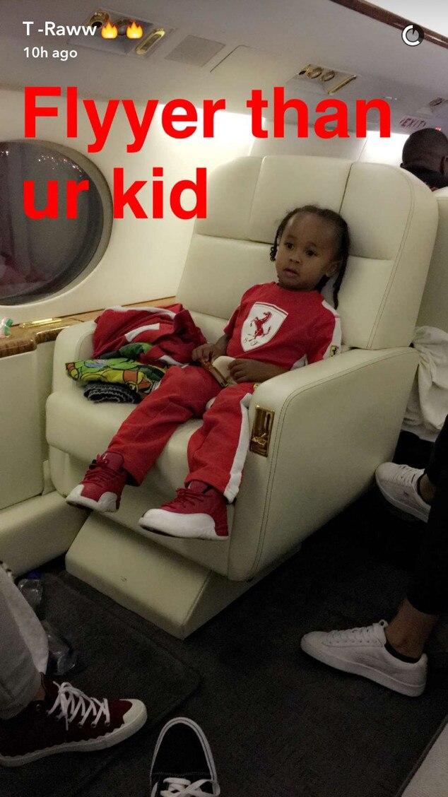 Tyga, King Cairo, Snapchat