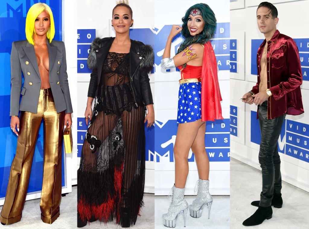 Worst Dressed, 2016 MTV VMAs