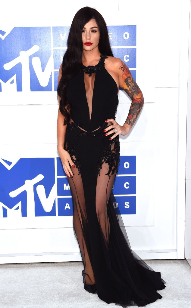 Jenni Jwoww Farley, 2016 MTV VMAs