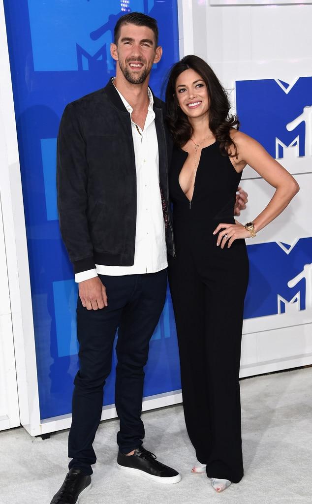 Michael Phelps, Nicole Johnson, 2016 MTV VMAs