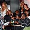 Alicia Keys, Swizz Beatz, Beyonce, Jay-Z, Kanye West, Kim Kardashian, Sean Diddy Combs, Cassie