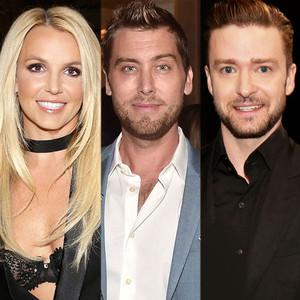 Britney Spears, Lance Bass, Justin Timberlake