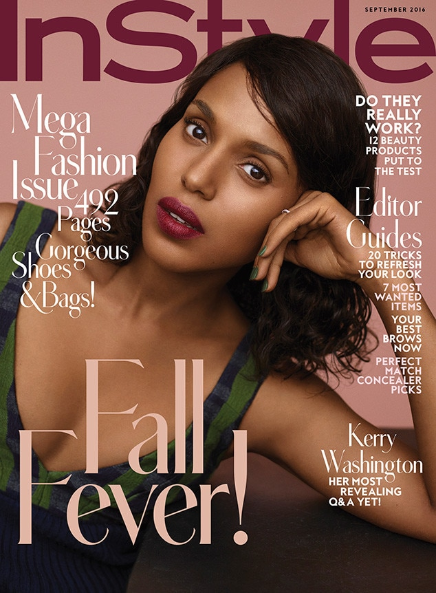 Kerry Washington, InStyle