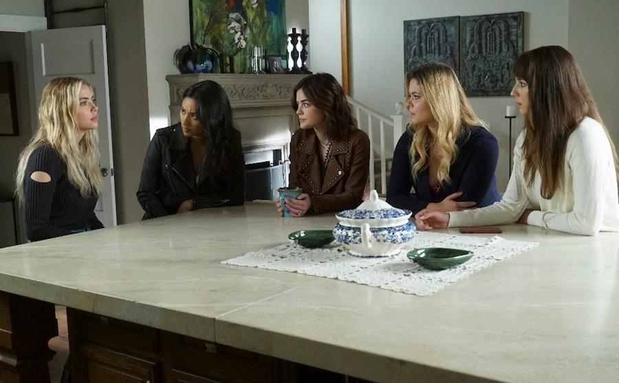 Pretty Little Liars, season 7a finale