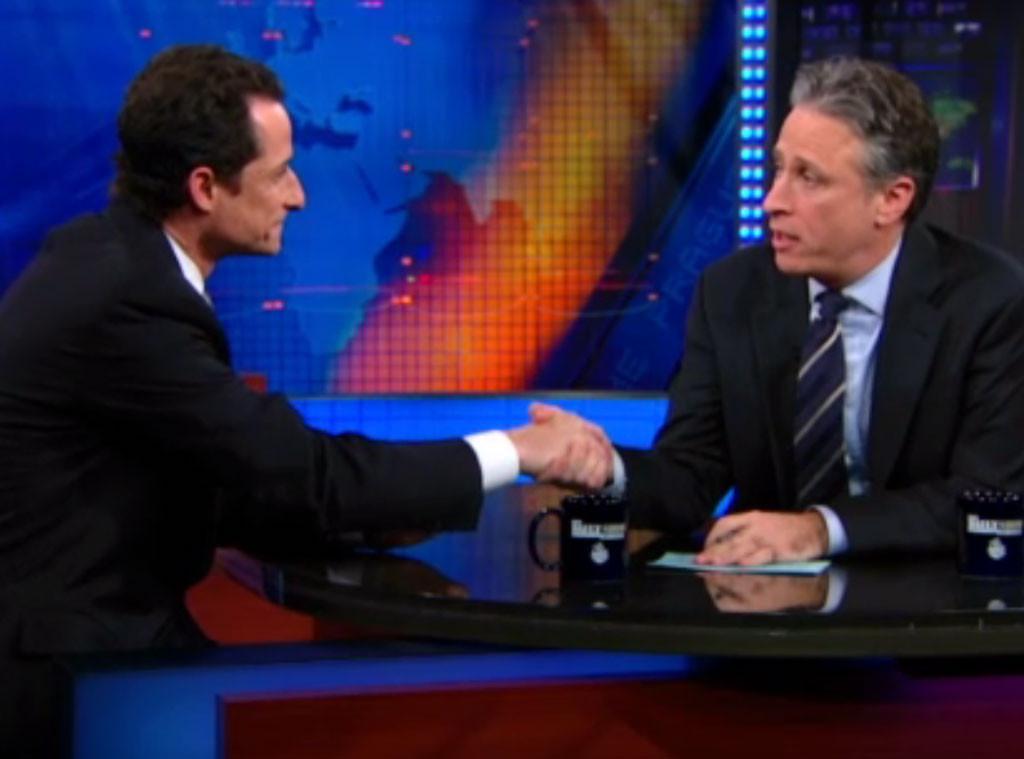 Daily Show Anthony Weiner Jon Stewart