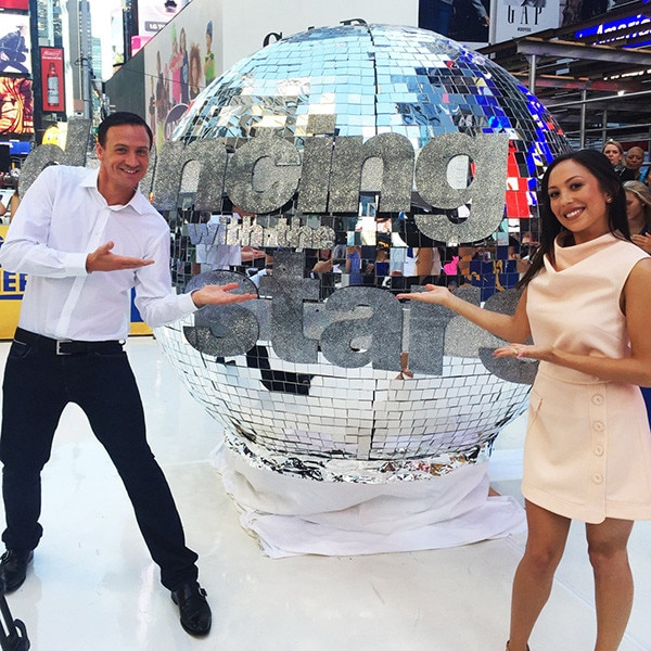 Ryan Lochte, Cheryl Burke, Good Morning America