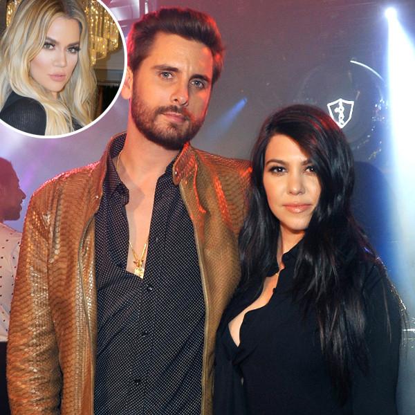 Scott Disick, Kourtney Kardashian, Khloe Kardashian