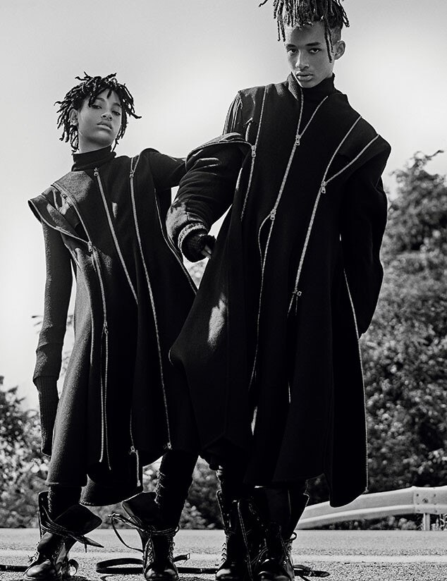 Willow Smith, Jaden Smith, Interview Magazine, September Issue