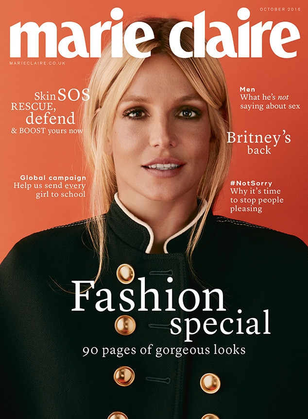 Britney Spears, Marie Claire UK