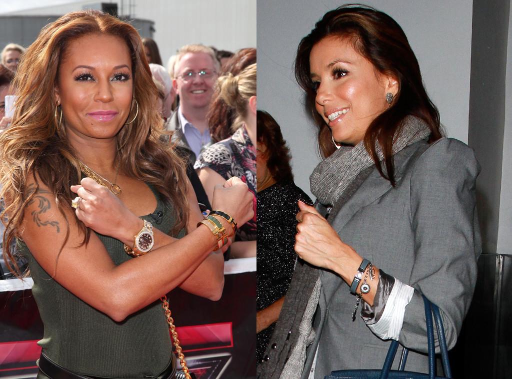Melanie Brown, Mel B, Hermes Enamel Bracelet