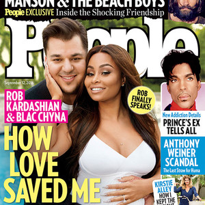 Rob Kardashian, Blac Chyna, People Magazine