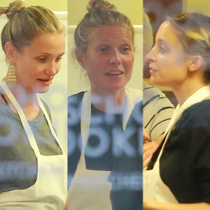 Cameron Diaz, Nicole Richie, Gwyneth Paltrow, 44th Birthday Party